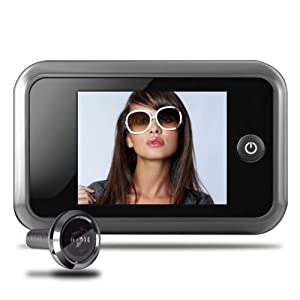 Spioncino digitale per porta con telecamera con display - Spioncino porta con telecamera ...