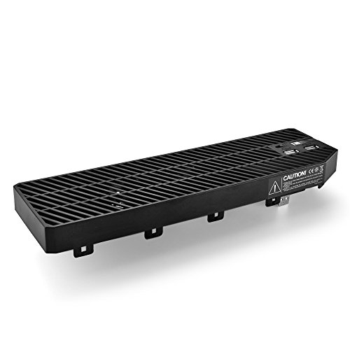 TNP Xbox One Cooling Fan - External USB Cooler Fan Stand with 2 Ports USB Hub for Xbox One Console (Black) [Xbox One] (External Usb Cooling Fan compare prices)