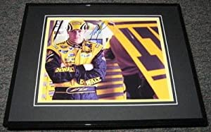 Signed Matt Kenseth Picture - Framed 8x10 Dewalt - Autographed NASCAR Photos by Sports Memorabilia