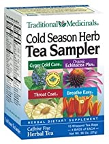 Cold Season Sampler - 16 bags,(Traditional Medicinals)