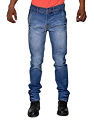 Karya Men Light Blue Slim Fit High Fashion Jeans