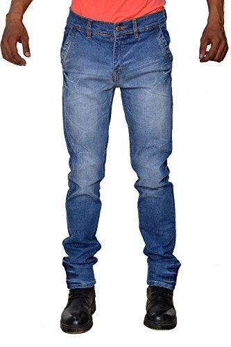 Karya Men Light Blue Slim Fit High Fashion Jeans