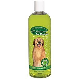 Top Performance Green Tea and Mint Puppies and Kittens Shampoo, 17-Ounce