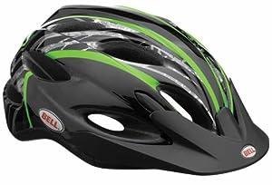 Bell Octane Splinter Bike Helmet (Black/Lime)