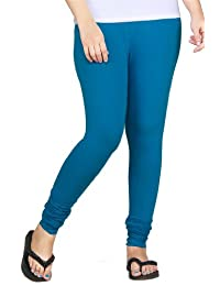 Clifton Women Stretch Cotton Legging - Blue Sapphire