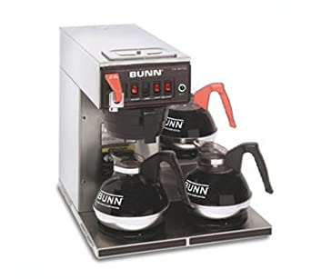Bunn Coffee Maker Lights Flashing : Amazon.com: Bunn 12 Cup Automatic Coffee Brewer with 3 Warmers -CWTF15-3-0298: Industrial ...