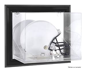 Northwestern Wildcats Framed Wall Logo Helmet Display Case - Mounted Memories... by Sports Memorabilia