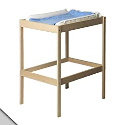IKEA - SNIGLAR Changing table, beech, white