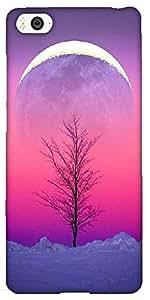 Snoogg Sky View 15 Designer Protective Back Case Cover For Xiaomi Mi4I / Mi4I