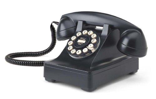 Crosley 302 Desk Phone CR60-Black