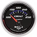 Auto Meter 6137 Cobalt Short Sweep Electric Water Temperature Gauge
