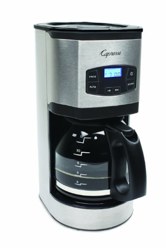 Capresso Sg120 12-Cup Stainless Steel Coffee Maker back-540549
