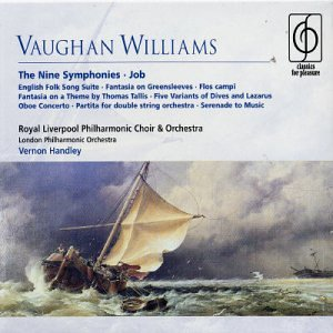 Complete Symphonies 1-9 by Ralph Vaughan Williams, Vernon Handley, Royal Liverpool Philharmonic Orchestra, London Philharmonic Orchestra and William Shimell