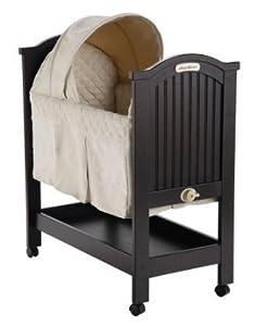 Eddie bauer dark cherry wood baby rocking Dark wood baby furniture