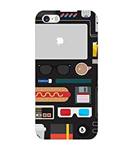 FIXED PRICE Printed Back Cover for iphone 5c