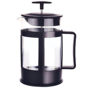 Primula 6-Cup Glass Coffee Press, Black