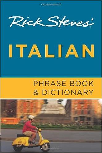 Rick Steves' Italian Phrase Book and Dictionary