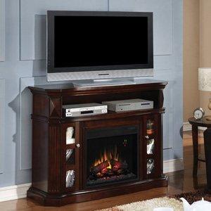 Classicflame Bellemeade Electric Fireplace Media Console In Espresso -23Mm774-E451