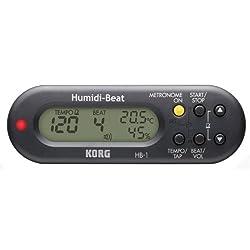 KORG HB-1-BK (黒) Humidi-Beat 温度計・湿度計付メトロノーム  amazonでこの商品の詳細を見る