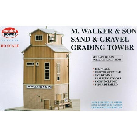 HO KIT Grading Tower - Buy HO KIT Grading Tower - Purchase HO KIT Grading Tower (Model Power, Toys & Games,Categories,Play Vehicles,Trains & Railway Sets)