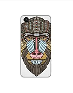 HTC Desire 626 tribal-baboon-portrait-01 Mobile Case (Limited Time Offers,Please Check the Details Below)