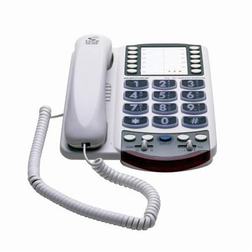 Clarity Amplified Corded Big-Button Telephone with Clarity Power Technology XL40B0006BKIXM