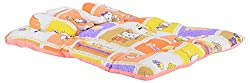 FirstVibe Foldable Printed Baby Mattress(Multi Colored)