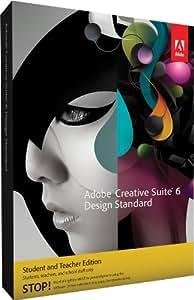Adobe CS6 Design Standard Student and Teacher Edition Mac [Old Version]