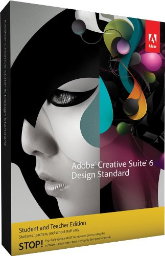 Adobe CS6 Design Standard Student and Teacher Edition Mac