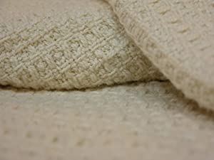 Organics and More Cotton Blanket - Waffle Weave - King