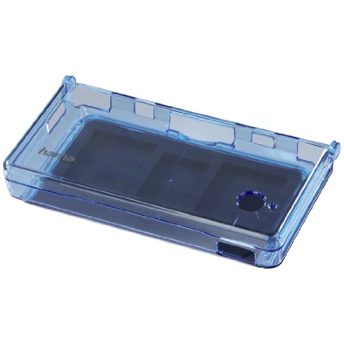 Crystal Case f&#252;r Nintendo DSi, Transparent-Blau, Nintendo DS