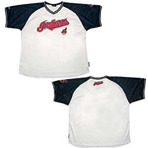 MLB Cleveland Indians Mens PRO QUALITY Athletic Baseball by MLB
