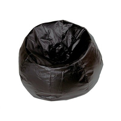 Miraculous Ace Bayou 13207 132 Inch Vinyl Bean Bag Chair Black Great Spiritservingveterans Wood Chair Design Ideas Spiritservingveteransorg