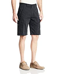 Carhartt Men\'s Cotton Ripstop Cargo Work Short,Black,34