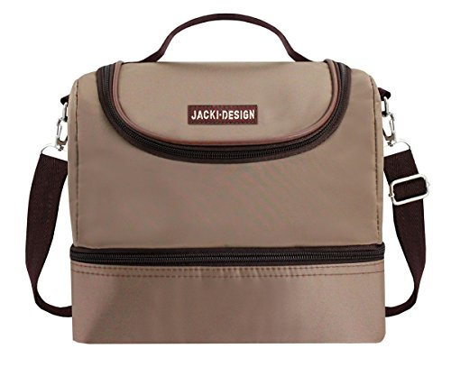 jacki-design-essential-2-compartment-insulated-lunch-fashion-bag-l-brown