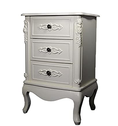 Comodino cassettiera camera da letto boudoir Marie Antoinette Style