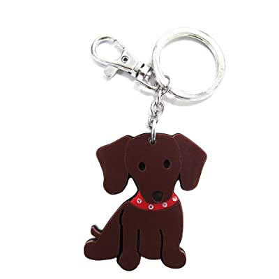 Love Your Breed Acrylic Keychain, Dachshund