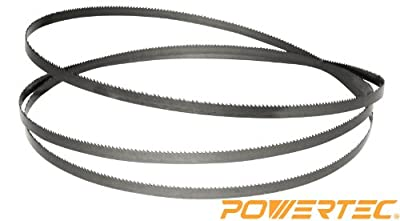 POWERTEC 13131X Band Saw Blade 62-Inch x 1/4-Inch x 6 TPI