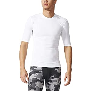 adidas Herren T-shirt TF Base SS, Weiß, XL, 4056561999358