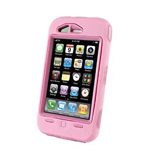 OtterBox Defender Case for iPhone 3G (Pink)