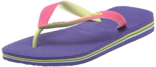 Havaianas Unisex Adult Hav Brasil Mix Ice Violet Sandal 4123206.3445.456 11/12 UK