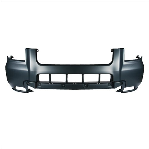 Bumper Grille For 2005-2008 Pontiac Vibe Center Textured Black Plastic