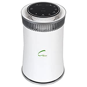 Gliese Magic Room Air Purifier, 5-Stage Air Filtration, True HEPA Filter, Digital PM 2.5 meter, Effective for 200 sq.ft. area (White)