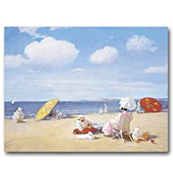 On the Beach, Shinnecock  circa 1895 - Gift Enclosure Cards (set of 12)