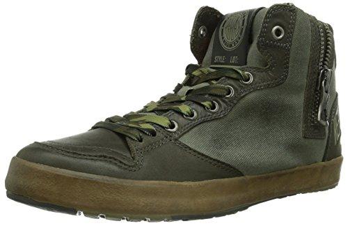 REPLAY Fluid, Sneaker alta Uomo, Verde (Grün (KAKI KAKI 2041)), 44