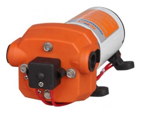 Seaflo 12V WATER PRESSURE DIAPHRAGM PUMP 4.5GPM 17 L/MIN 40 PSI Caravan/RV/Boat/Marine