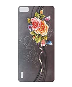 Techno Gadgets Back Cover for Huawei Honor 6