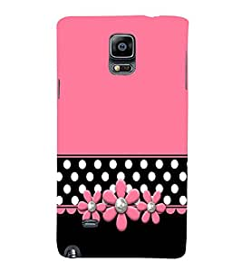 Teters Floral 3D Hard Polycarbonate Designer Back Case Cover for Samsung Galaxy Note 4 N910 :: Samsung Galaxy Note 4 Duos N9100