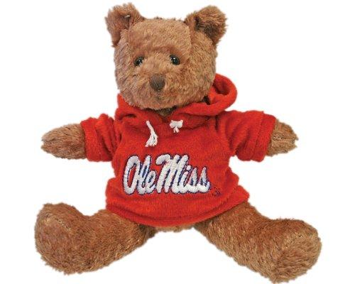NCAA Mississippi Rebels Hoodie Bear
