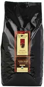 The Bean Coffee Company Vienna Roast, Organic Whole Bean Coffee, 5-Pound Bags
